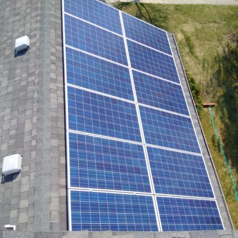 PV Panel install