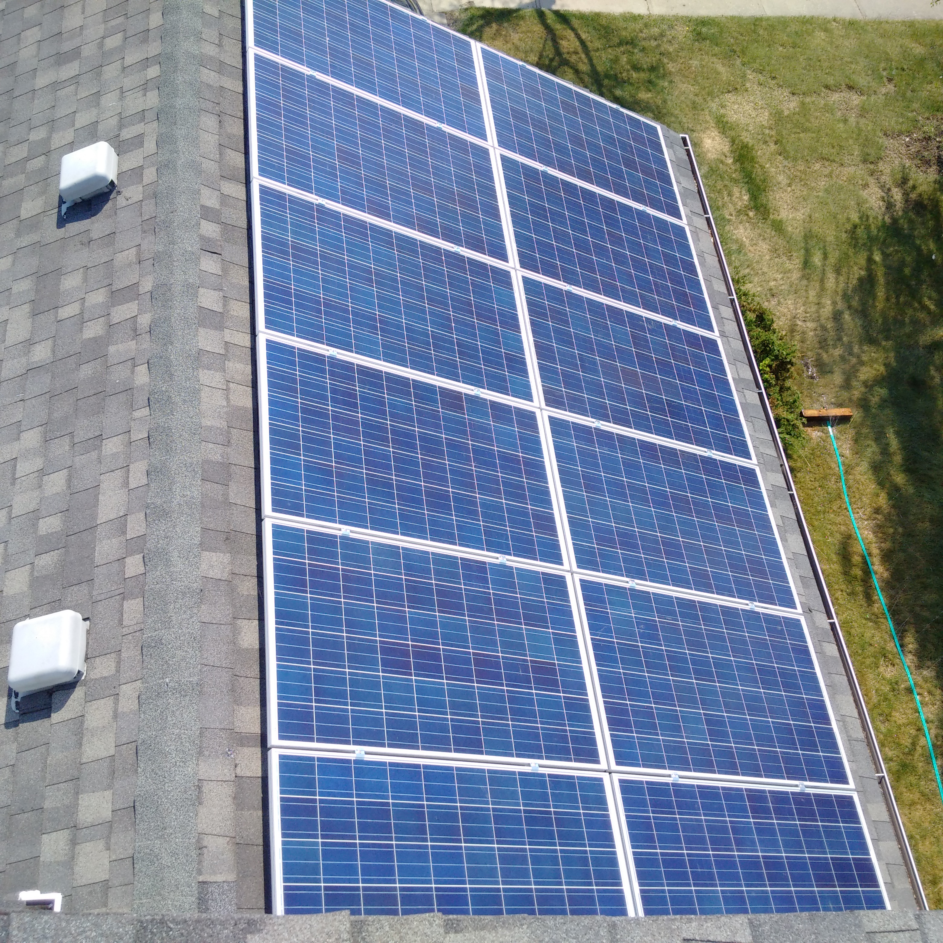 PV Panel install